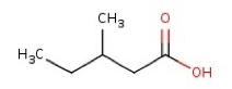 3-methyl valeric acid